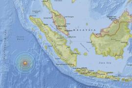 Suspendida la alerta de tsunami en Indonesia tras un seísmo de 7,9 grados en Sumatra