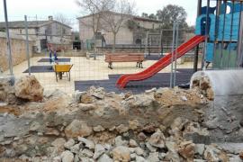 El Ajuntament de Algaida mejora la zona infantil de Pina
