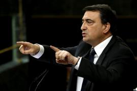 El PNV dice que no puede votar a favor porque de Euskadi «nada de nada»