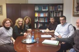 Educació se compromete a redactar el proyecto de ampliación del colegio público de Porreres
