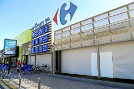 Butrón fallido en Carrefour