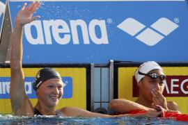 Mercedes Peris se hace  con el bronce en los 50 metros espalda