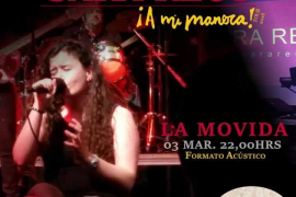 Sara Reus presenta 'A mi manera' en La Movida