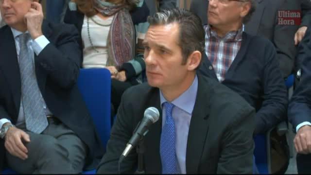 Urdangarin: «En ningún momento Juan Carlos I intercedió en mis negocios»