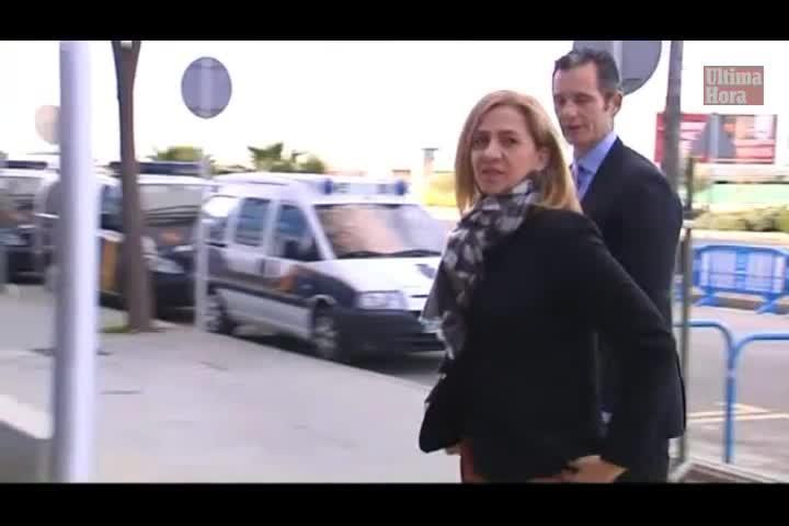 Minuto a minuto de la declaración de la infanta Cristina
