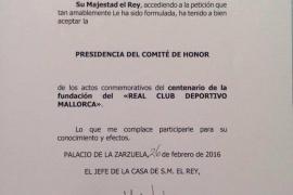 El Mallorca ficha a Felipe VI