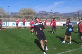 Steve Nash entrena con el Mallorca