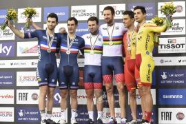Torres, junto a Mora, se cuelga el bronce en los mundiales de ciclismo en pista