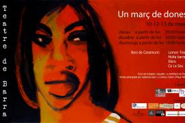 Teatre de Barra con motivo del Dia de la Dona 2016