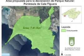 Calvià pide al Govern un parque natural en Cala Figuera-Refeubeig