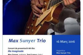 Jazz con Max Sunyer trio en el Centre Cultural Sa Nostra de Palma