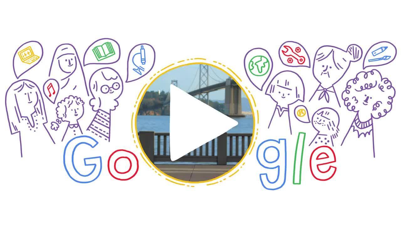 Google felicita el Día Internacional de la Mujer con un vídeo-doodle