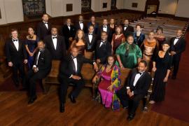 Canto afroamericano en el Auditòrium con The American Spiritual Ensemble