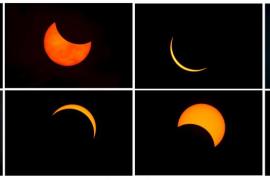 Espectacular eclipse de sol en Indonesia, que será el único de 2016