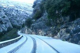 Vuelve la nieve a la Serra