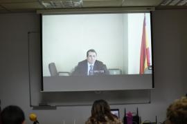 Antonio Ballabriga en el juicio del caso Nóos