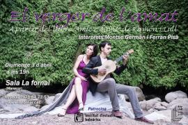Los versos más místicos de Ramon Llull llegan a La Fornal con 'El verger de l'amat'