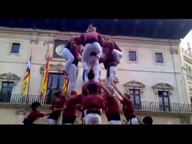 Los 'castells' mallorquines cumplen veinte años