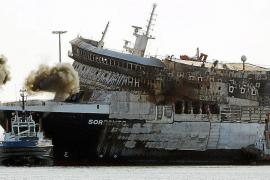 Los transportistas de Balears solicitan en los juzgados el retorno del 'Sorrento' a Sagunto
