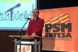 Biel Barceló se despide como secretario general del PSM-Entesa