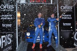 Puerto Portals se engalana para entregar los premios del Oris Rally Clásico