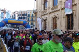 Más de un millar de personas marchan por la igualdad en Palma