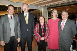 Recepción del embajador de Noruega