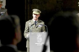 Fernando Aznar cesa al frente de la Comandancia General de Balears
