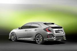 Honda ha presentado en el Salón de Ginebra el Civic 5 puertas Prototype