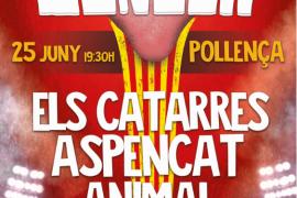 Els Catarres y Aspencat lideran el cartel del 'Concert per la Llengua' de Pollença