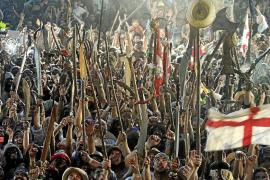 Menos público en la batalla final del Firó de Sóller en aras de la seguridad