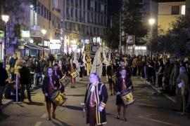 La Processó dels Estendards abre la Semana Santa 2016 de Palma