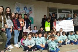 Los alumnos del colegio Sagrat Cor donan más de 3.000 euros para los refugiados
