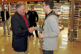 Jean Marie Londeix, invitado estrella del Mallorca Saxophone Festival