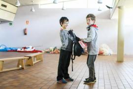 Los alumnos del CEIP Sant Antoni se sumergen
