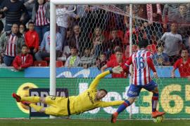 El Atlético se hunde en los últimos minutos de partido
