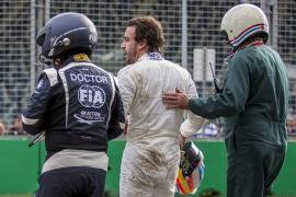 Alonso: «Soy consciente de que he gastado una de las vidas que me quedaban y doy gracias por estar vivo»