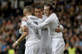La BBC vuelve a escena y el Madrid golea al Sevilla