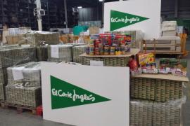 La Operación Kilo del Banco de Alimentos recoge 5,5 toneladas de productos de El Corte Inglés