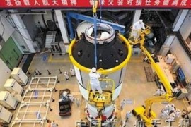 El primer laboratorio espacial chino termina su misión