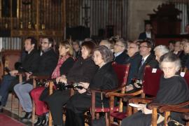La reina Sofía acude al concierto solidario a favor de Projecte Home en La Seu