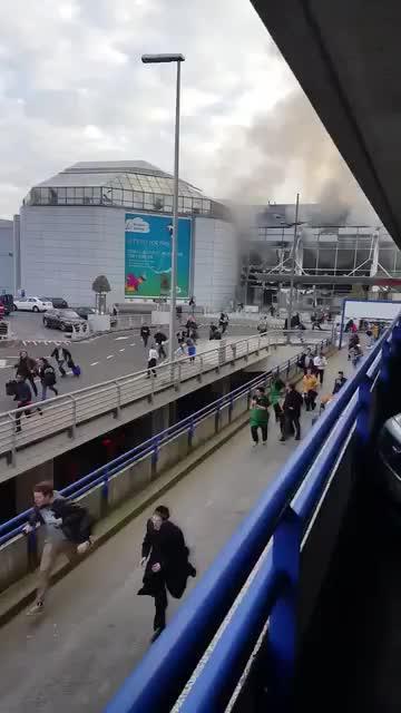 Numerosos heridos en una doble explosión en el aeropuerto de Bruselas