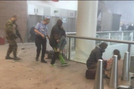 Testigos relatan que han escuchado disparos y un grito en árabe antes de las explosiones