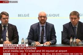 El primer ministro belga dice que es un «momento negro» para el país