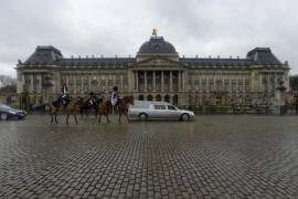 El Palacio Real belga, evacuado tras las explosiones