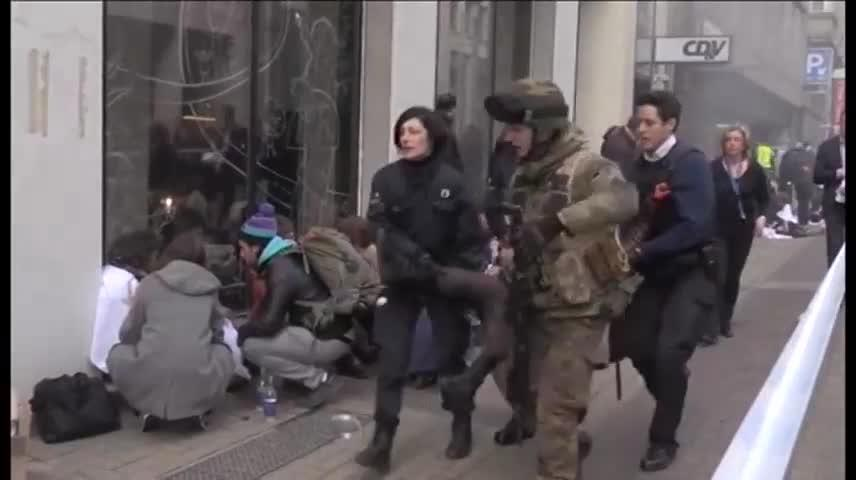 Jornada de terror en Bruselas