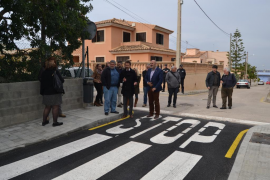 El Ajuntament de Capdepera inaugura la calle Pere Ferrer