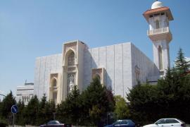 La Policía busca a radicales que lanzaron bengalas a la mezquita de la M-30