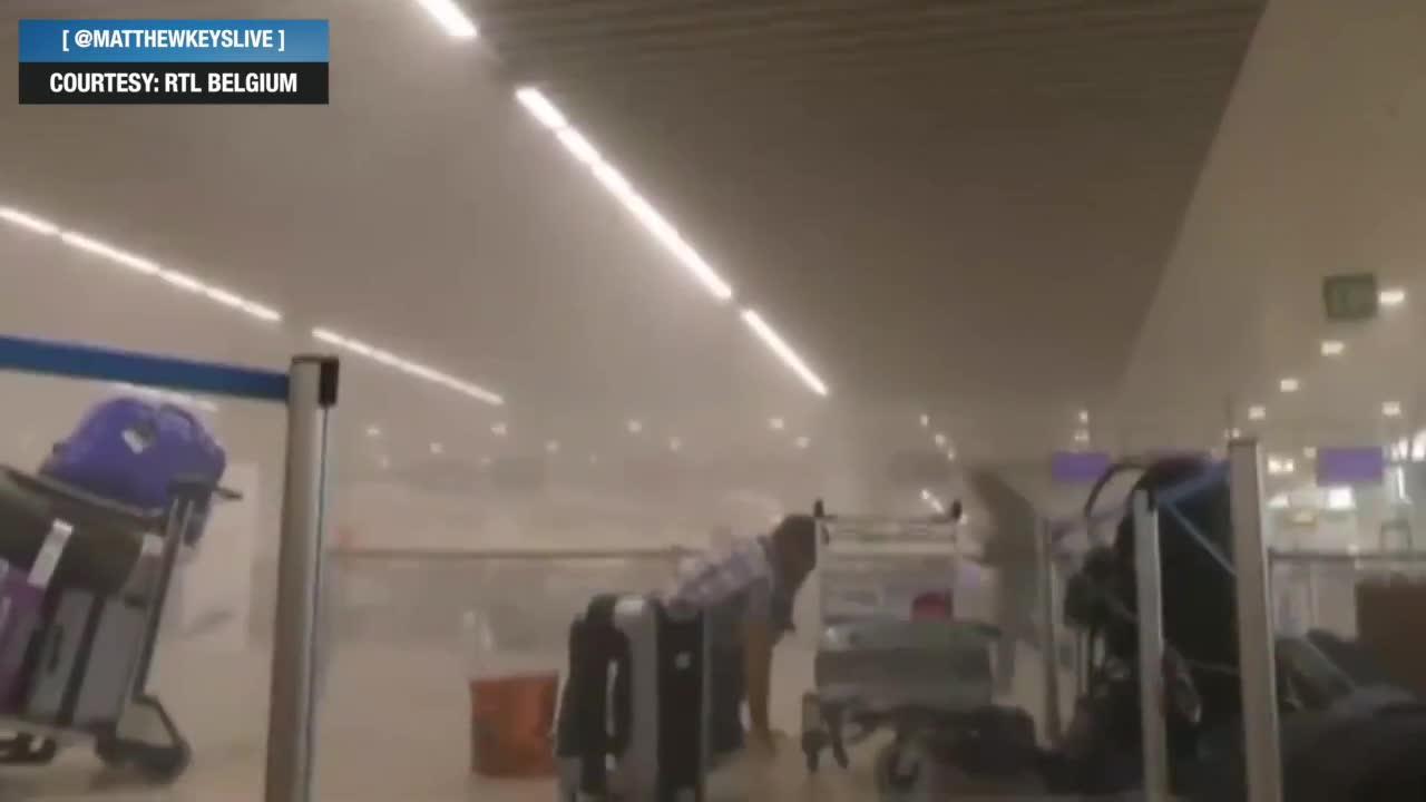 El terrorista huido dejó en el aeropuerto la carga 'más importante', que no estalló