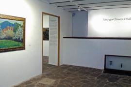 'Pintura contemporània sobre paper', 'Paisatges clàssics a mallorca' y 'Correspondències', en Can Prunera